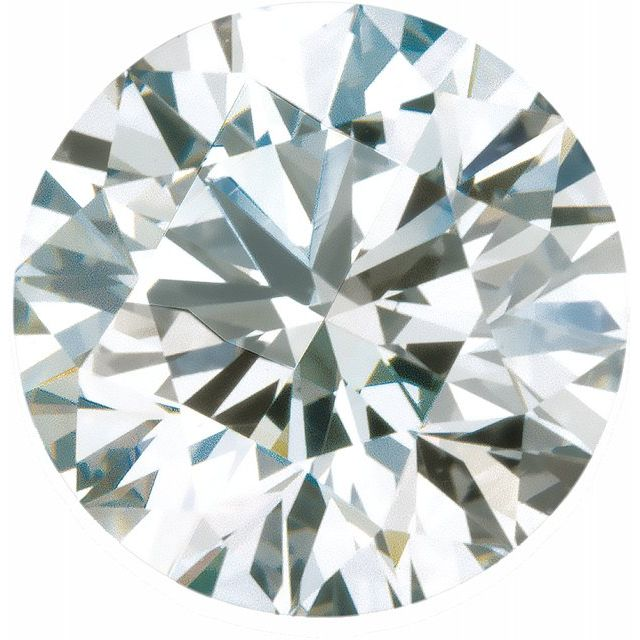 Round Cut Diamond different cuts of diamonds for engagement rings