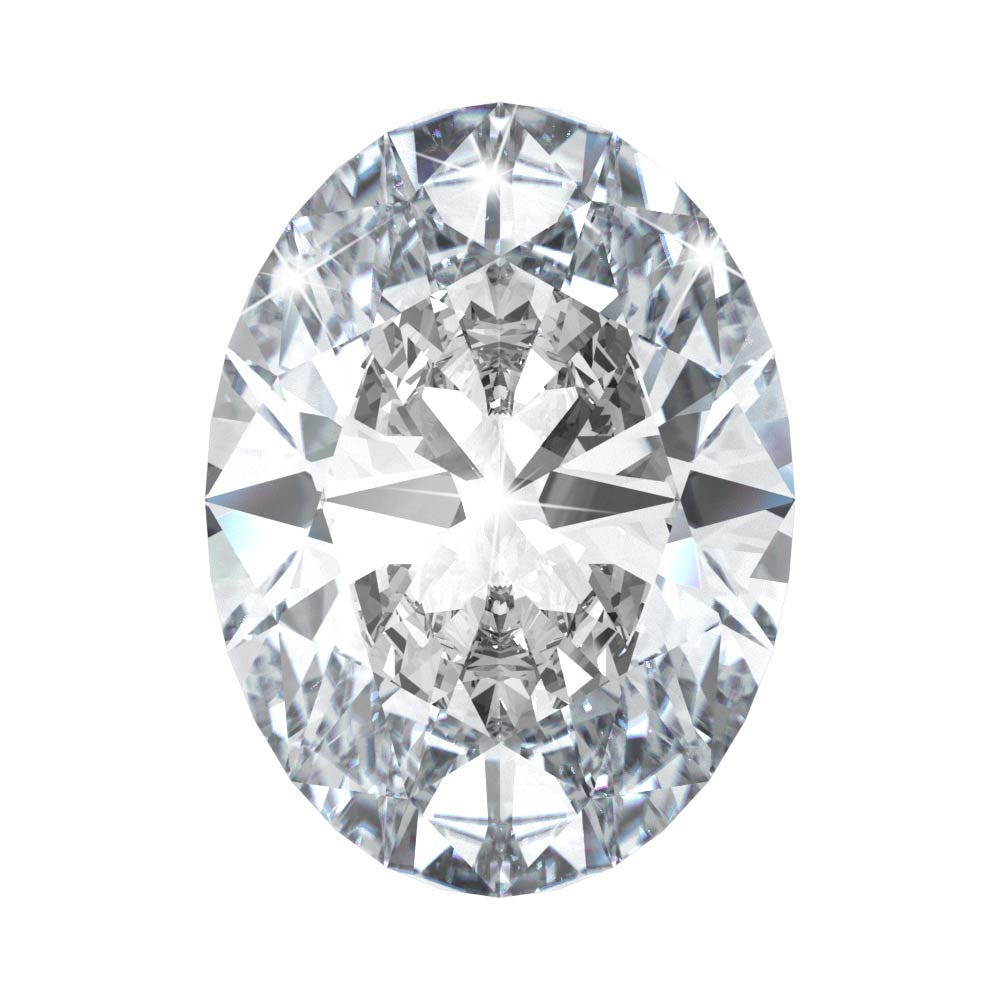 Oval popular cuts of diamond engagement rings