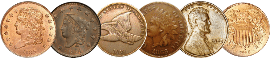 Rare Coins cents penny where to sell coins